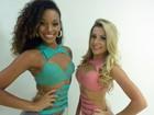 Dia de estreia! Camila Lobo e Mayara Araújo reforçam o time de gatas do Balé
