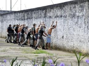 Ação foi realizada no complexo penitenciário de Rio Branco. (Foto: Asscom MP-AC)