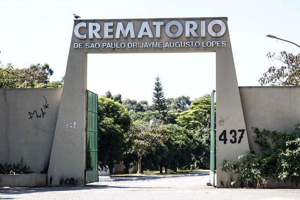 Cerimônia de cremação do pai do ator Paulo Vilhena (Foto: Manuela Scarpa e Marcos Ribas/Photo Rio News)