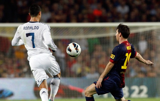 messi cristiano ronaldo real madrid x barcelona (Foto: Reuters)
