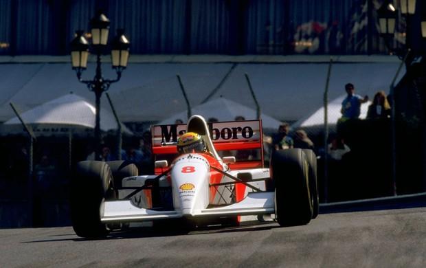 ayrton senna monaco formula 1 (Foto: Getty Images)