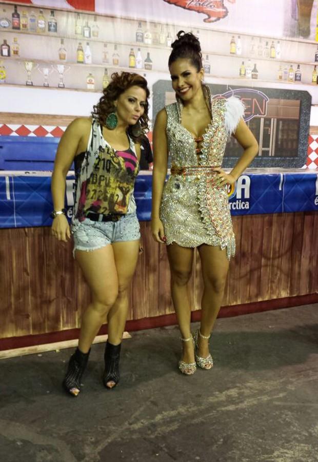 Viviane Araújo e Raíssa Machado (Foto: Divulgação)