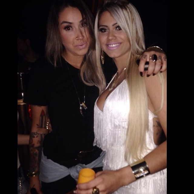 Dani Bolina e Janaína Santucci (Foto: Instagram / Reprodução)