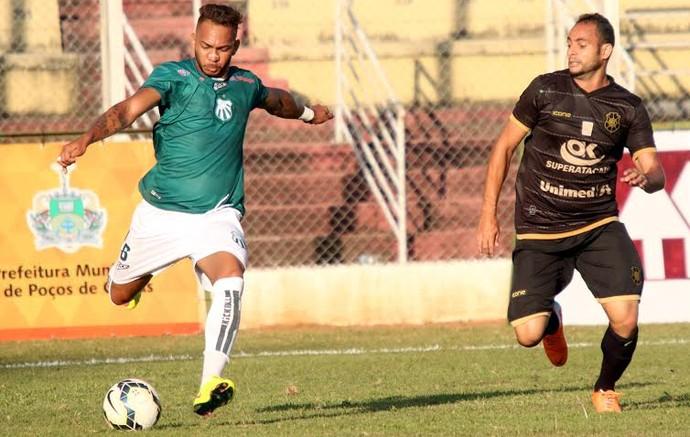 Campeonato Brasileiro Série D 2015: Caldense x Rio Branco-ES (Foto: Luciano Santos/Mantiqueira)