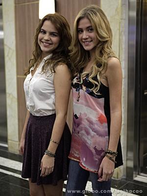 Anita e Sofia têm estilos diferentes (Foto: Malhação / TV Globo)