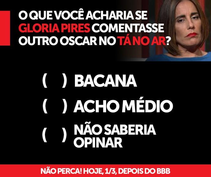 Gloria Pires participará de Tá no Ar (Foto: TV Globo)