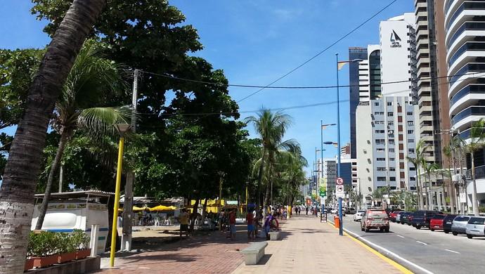 Avenida Beira Mar Fortaleza (Foto: Richard Souza)