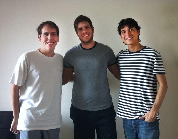 Henrique Bejgel, Eric Prata Salama e Rodrigo Coelho Costa Junior falam sobre o Steam brasileiro (Foto: Divulgação)