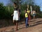 Pais reclamam da falta de transporte escolar em comunidade rural (Reprodução / TV Mirante)