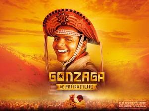Cartaz de Gonzaga: de Pai para Filho, filme de Breno Silveira (Foto: Divulgação)