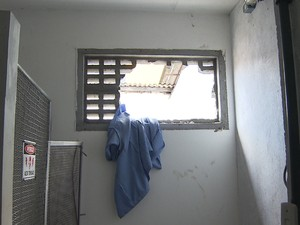 Assalto Clínica Salvador Bahia 3 (Foto: Reprodução/TV Bahia)