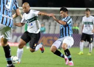 Alan Ruiz Grêmio x Coritiba (Foto: Divulgação/Coritiba)