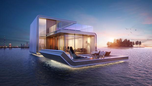 O andar ao nível do mar terá terraço para descanso (Foto: Reprodução/THOE)