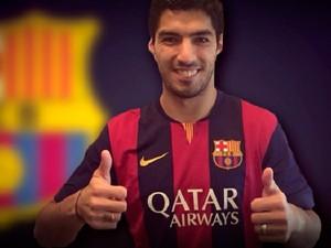 Luis Suárez Barcelona (Foto: Divulgação/Site oficial do Barcelona)