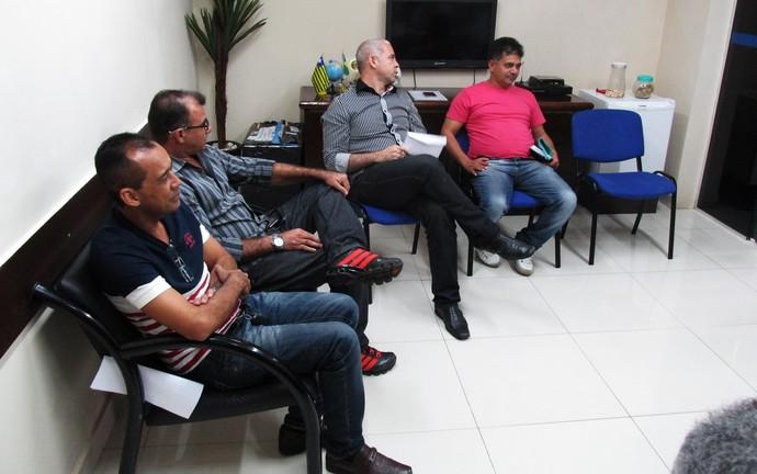 Conselho técnico definiu formato da Copa Piauí 2015 (Foto: Josiel Martins)