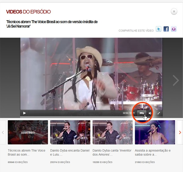 stereo vídeos (Foto: The Voice/TV Globo)