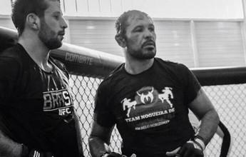 """Minotauro conta com amigo sparring para encarar """"gigante"""" Struve no UFC"""