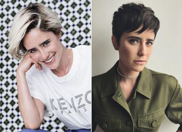 Fernanda Vasconcellos mudou o visual (Foto: Reprodução/Instagram)