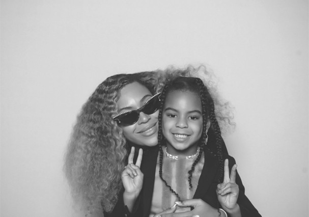 Beyoncé e Blue Ivy (Foto: Divulgação)