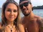 Pedro Ortega e Carol Portaluppi passam por situação inusitada em ilha