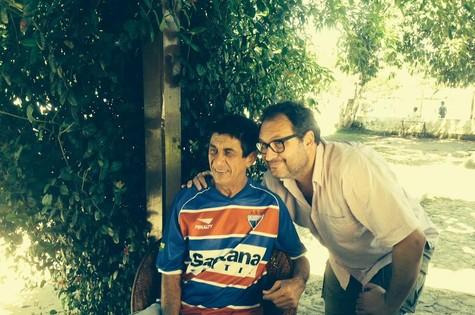 Fagner e Samir Abujamra  (Foto: Arquivo pessoal)