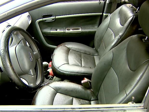 Motorista do Uber foi atingido por disparos na cabeça e nas pernas (Foto: Reprodução/EPTV)