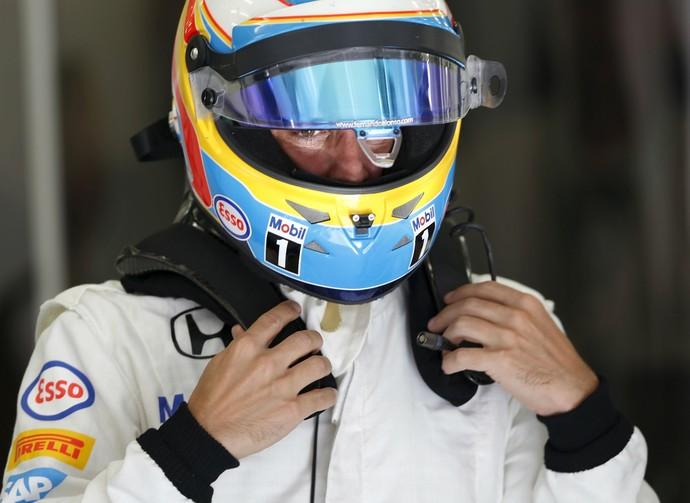 Fernando Alonso ainda não pontuou na atual temporada (Foto: Reuters)