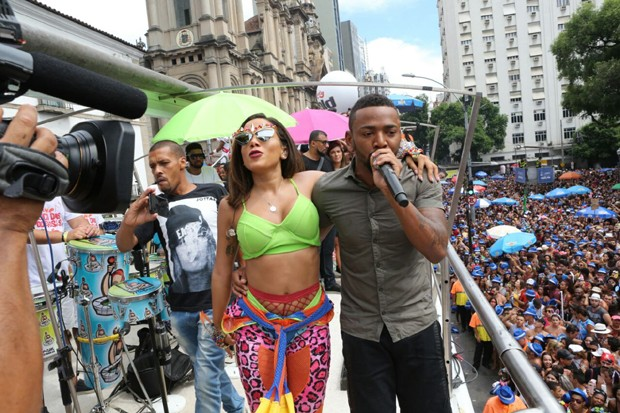 Anitta e Nego do Borel  (Foto: Reginaldo Teixeira)