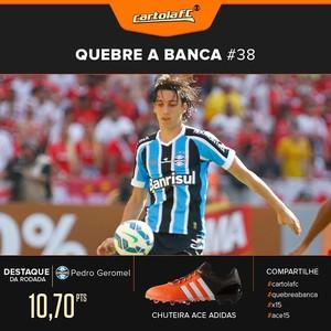 card pedro geromel adidas (Foto: GloboEsporte.com)