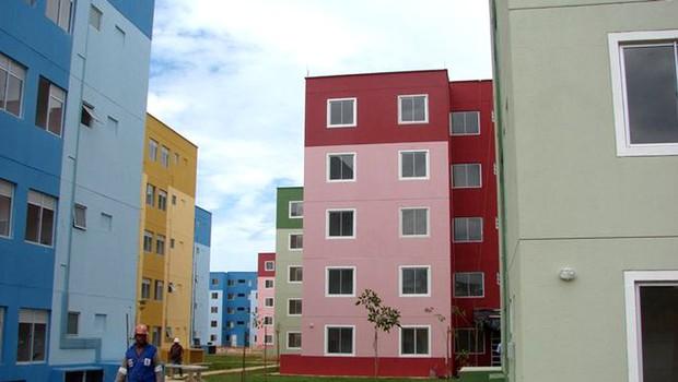 Construção de moradia popular Minha Casa Minha Vida (Foto: Divulgação)