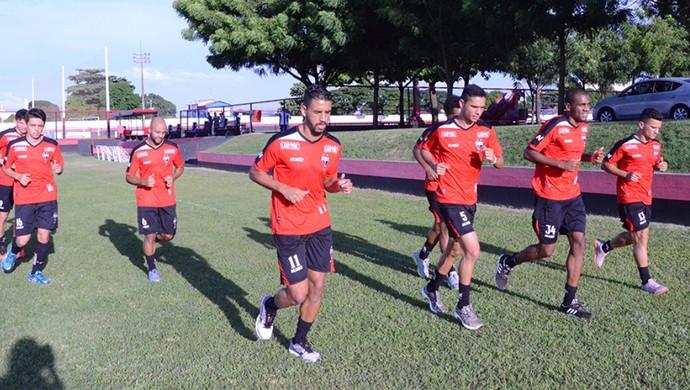Atlético-GO - treino (Foto: Divulgação / Atlético-GO)