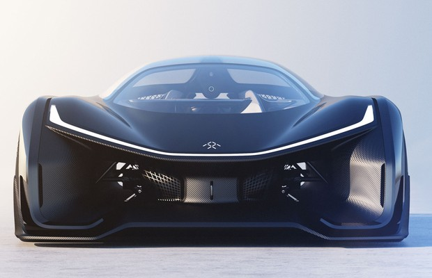 FFZERO1, o primeiro conceito da Faraday Future (Foto: Divulgação)