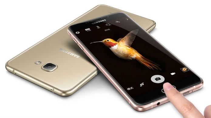 Galaxy A9 tem bateria de 5000 mAh e carregamento rápido (Foto: Divulgação/Samsung)