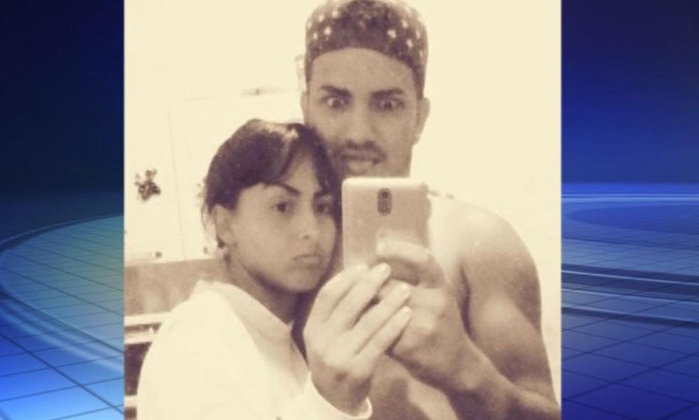 Gabriela e Jhony tinham um relacionamento há seis anos  (Foto: Reprodução / TV TEM )