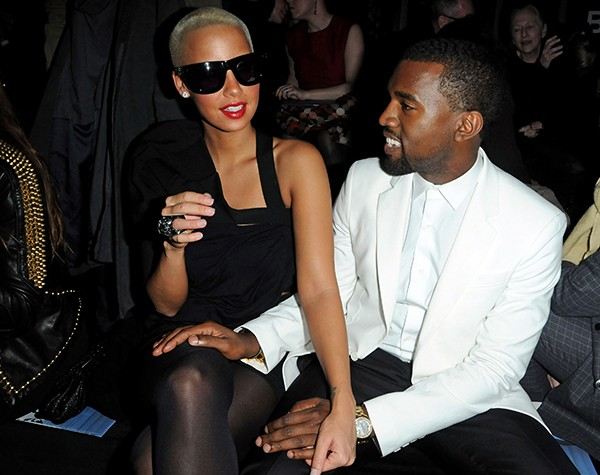 Kanye West e Amber Rose (Foto: Getty Images)
