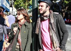 California Dreaming embalou a chegada de Manu e Igor em São Francisco (Foto: Aline Kras / TV Globo)
