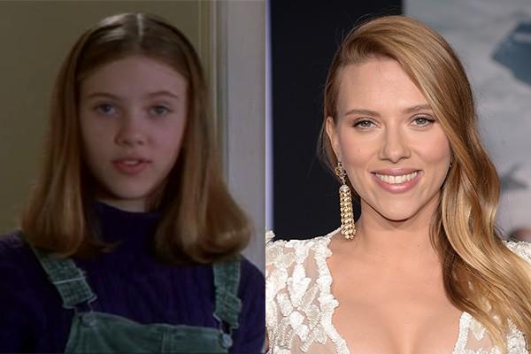 Scarlett Johansson começou a fazer aparições em filmes e séries quando tinha 10 anos. Ela inclusive fez uma participação em 'Esqueceram de Mim 3'. Hoje ela é mais conhecida por interpretar a Viúva Negra em filmes da Marvel como 'Os Vingadores'. (Foto: Divulgação/Getty Images)