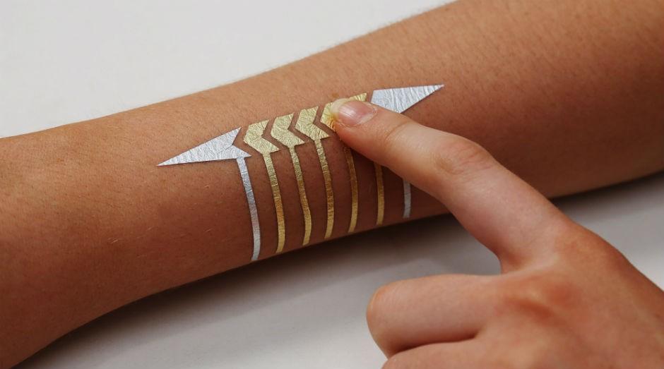 DuoSkin: tatuagem que transforma pele em touchpad (Foto: Divulgação/DuoSkin)
