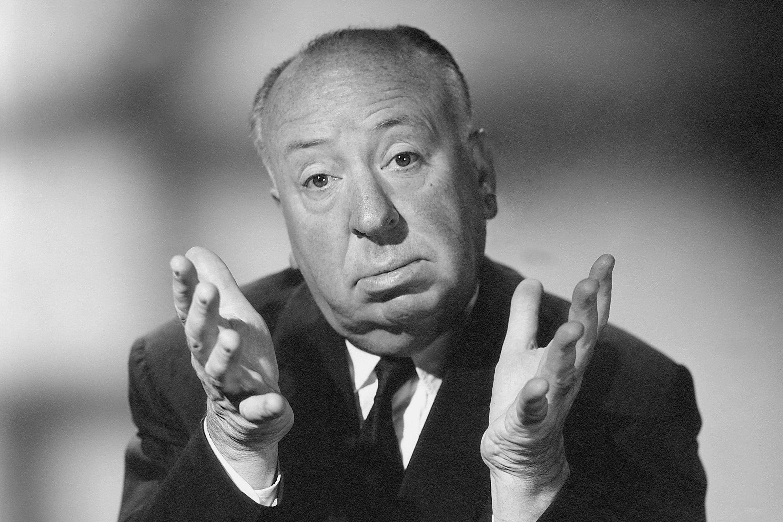 A obra de Alfred Hitchcock é um dos temas abordados nos cursos gratuitos de cinema. (Foto: Dominio Público)