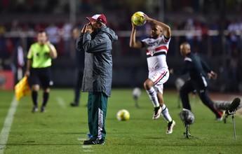 """Levir reclama da arbitragem em revés diante do São Paulo: """"Influência direta"""""""