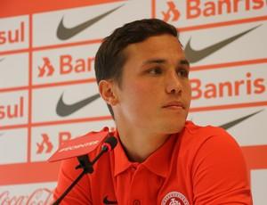 Seijas meia Inter (Foto: Tomás Hammes / GloboEsporte.com)