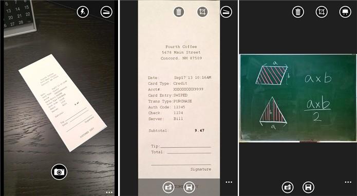 Office Lens transforma a câmera do seu Windows Phone em um scanner portátil (Foto: Divulgação/Windows Phone Store)