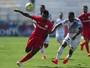 Inter supera domínio da Ponte Preta e arranca empate com jogador a menos