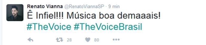 Renato Vianna Voice Redes sociais (Foto: Reprodução/Internet)