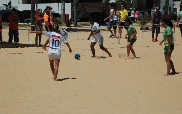 Servicar, Campeonato Paraibano de Beach Soccer, paraíba, João Pessoa (Foto: Larissa Keren / Globoesporte.com/pb)