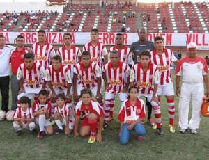 Villa Nova disputa semifinal da Taça Minas Gerais. (Foto:  Wagner Augusto / A.I. do Villa Nova   )