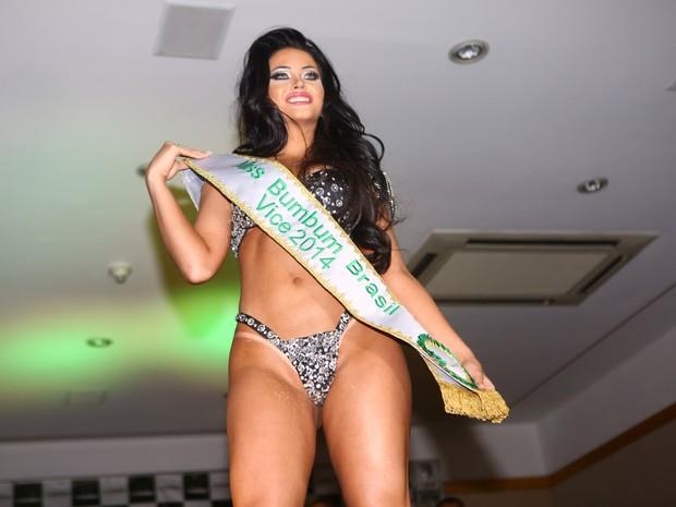 Claudia Alende, vice Miss Bumbum 2014 (Foto: Iwi Onodera / EGO)