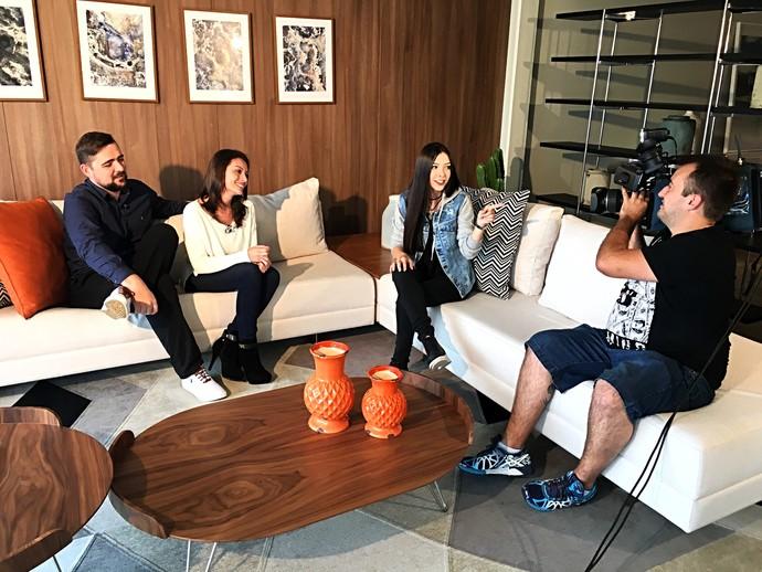 Casal fala das dúvidas para o casamento e para casa nova  (Foto: RBS TV/Divulgação )