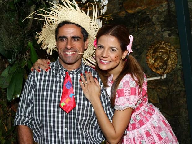 Nívea Stelmann e Marcus Rocha (Foto: Raphael Mesquita / FOTO RIO NEWS)