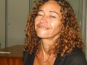 Rosilda de Araújo assumiu tentativa de homicídio contra mendigo em Natal (Foto: Rafael Barbosa/G1)